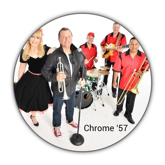 www.chrome57band.com, Chrome '57 band, 1950's band Florida, oldies band Florida, 50s Band Florida, fifties band Florida, sock hop