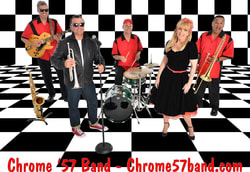 www.chrome57band.com, Chrome '57 band, 1950's band St. Petersburg, oldies band St. Petersburg, 50s Band St. Petersburg, fifties band St. Petersburg