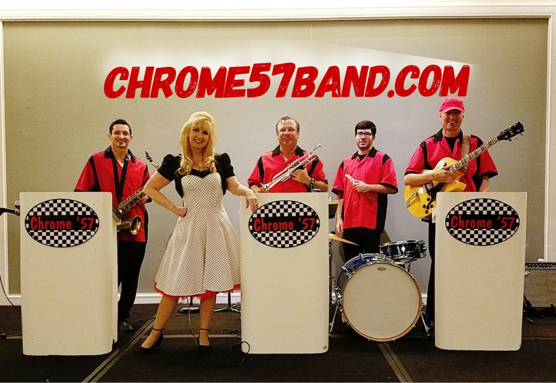 Chrome 57 Band, Oldies Band Florida, 50s band Florida, fifties band Florida, sock hop band