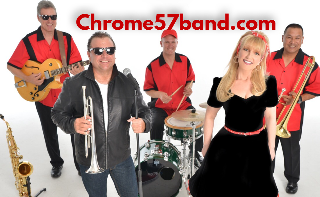 Chrome 57 Band, Oldies Band Orlando, 50s band Orlando, fifties band Orlando, sock hop band orlando,