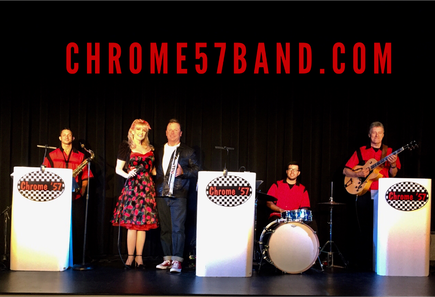 50's band Orlando, Chrome '57 Band, 50s, Sock hop, Oldies Band, Florida, Sarasota, Saint Petersburg, Ybor City, Fort Lauderdale, Palm Beach Corporate Entertainment